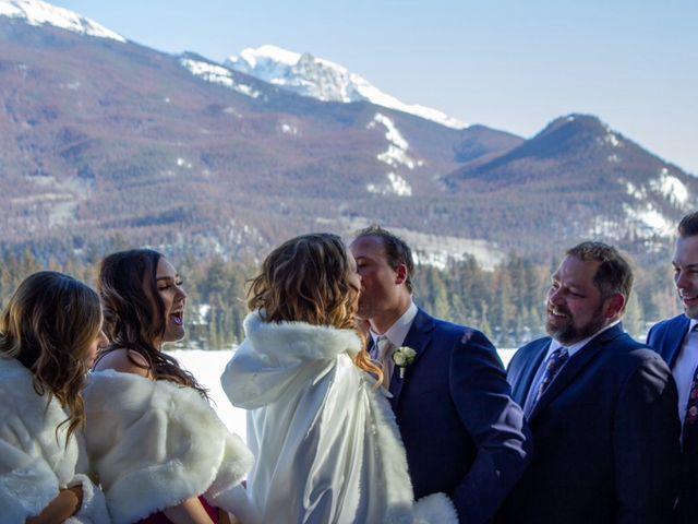 Madison and Mitchell's wedding in Jasper, Alberta 8