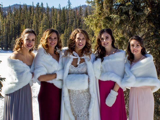 Madison and Mitchell's wedding in Jasper, Alberta 2