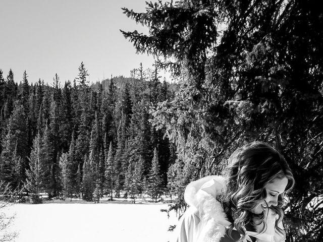 Madison and Mitchell's wedding in Jasper, Alberta 9