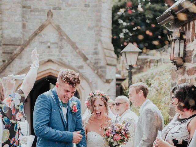The wedding of Raymond and Sandra