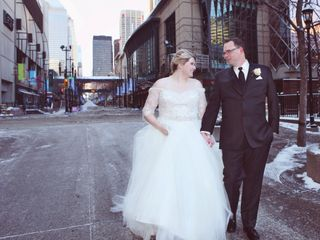 The wedding of Crystal and Shane