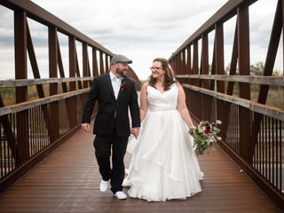 The wedding of Chere and Steve