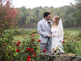 The wedding of Jody and Chris