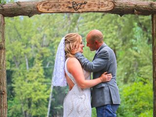 The wedding of Melissa and Travis