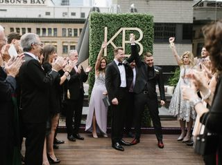 The wedding of Kyle and Brandon