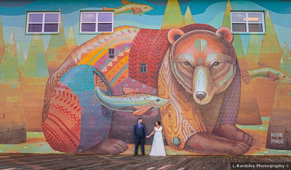 David and Olivia's wedding in Moncton, New Brunswick