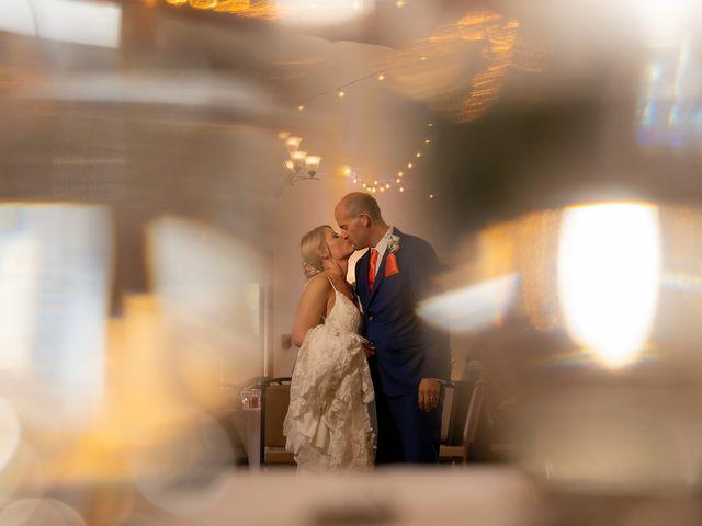 The wedding of Jamie and Winston