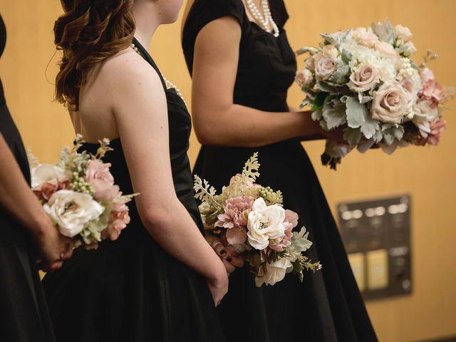 Matt and Allison's wedding in Edmonton, Alberta 1