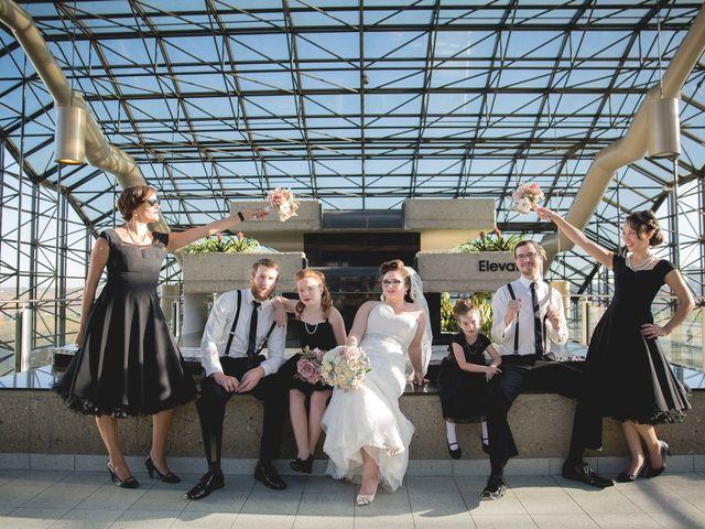 Matt and Allison's wedding in Edmonton, Alberta 37