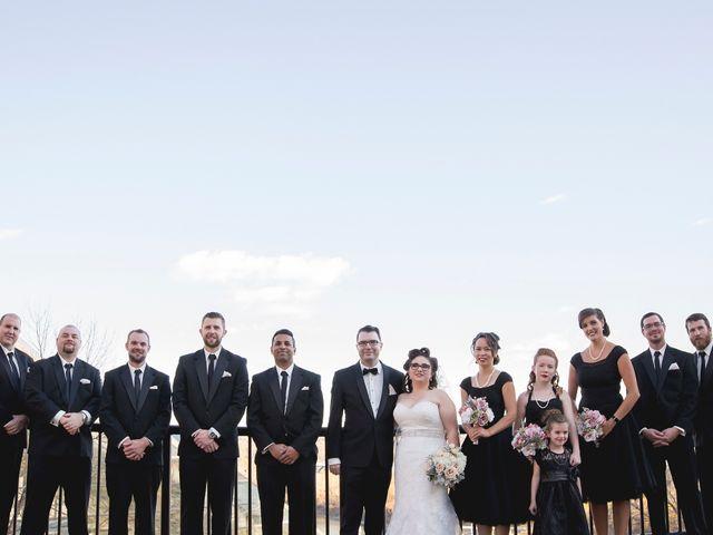 Matt and Allison's wedding in Edmonton, Alberta 2