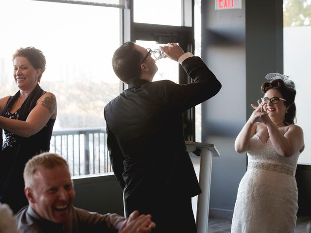 Matt and Allison's wedding in Edmonton, Alberta 88