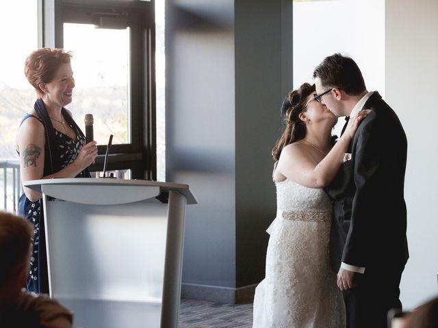 Matt and Allison's wedding in Edmonton, Alberta 90
