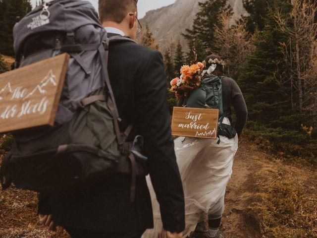 Alex and Kayley's wedding in Kananaskis, Alberta 4