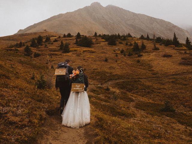 Alex and Kayley's wedding in Kananaskis, Alberta 5