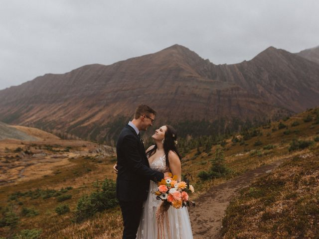 Alex and Kayley's wedding in Kananaskis, Alberta 10