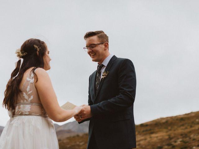 Alex and Kayley's wedding in Kananaskis, Alberta 19