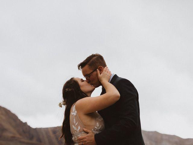 Alex and Kayley's wedding in Kananaskis, Alberta 22