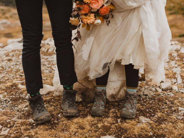 Alex and Kayley's wedding in Kananaskis, Alberta 24