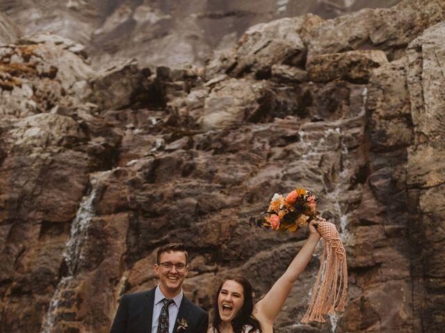 Alex and Kayley's wedding in Kananaskis, Alberta 26