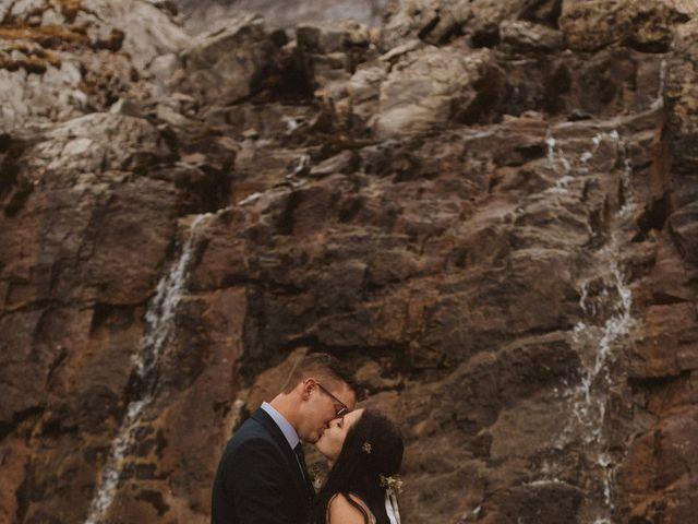 Alex and Kayley's wedding in Kananaskis, Alberta 2