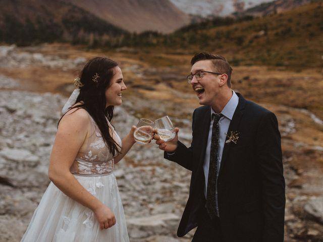Alex and Kayley's wedding in Kananaskis, Alberta 29