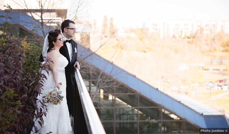 Matt and Allison's wedding in Edmonton, Alberta