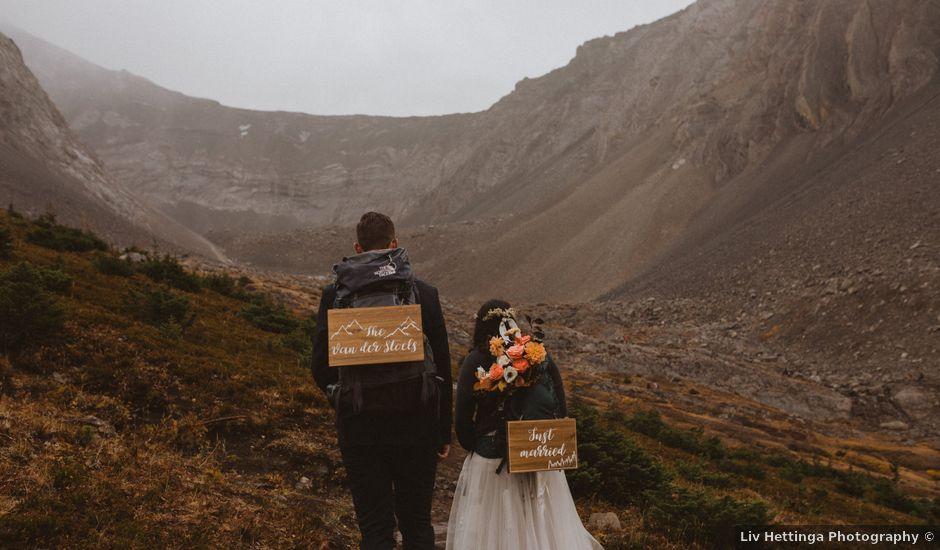 Alex and Kayley's wedding in Kananaskis, Alberta
