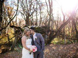 The wedding of Alyssa and Avi