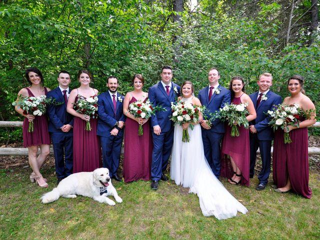 Ashlynn and Andrew's wedding in Elmvale, Ontario 1