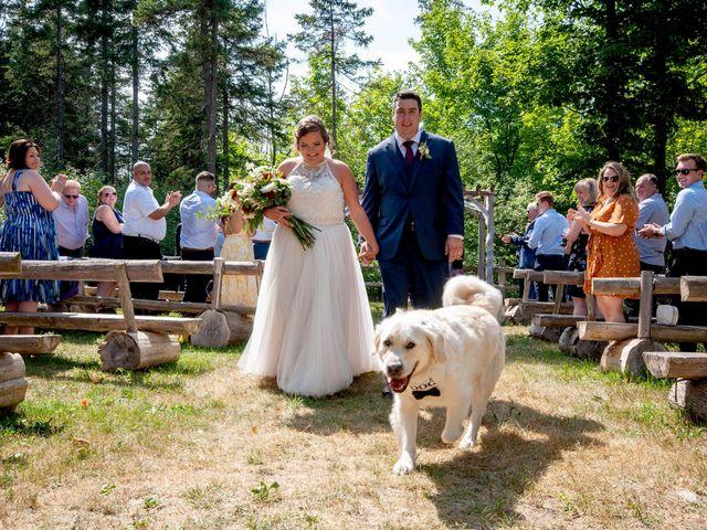 Ashlynn and Andrew's wedding in Elmvale, Ontario 2