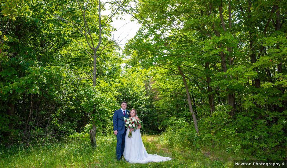 Ashlynn and Andrew's wedding in Elmvale, Ontario