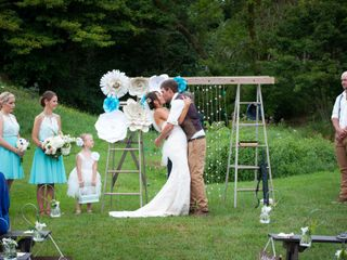 The wedding of Mark and Jenna