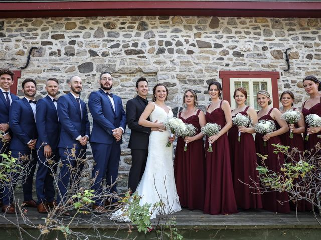 Chris and Emily's wedding in Lachine, Quebec 9