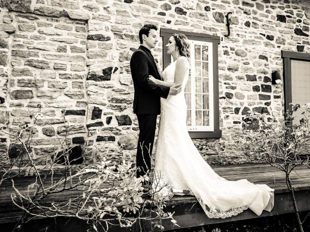 Chris and Emily's wedding in Lachine, Quebec 10