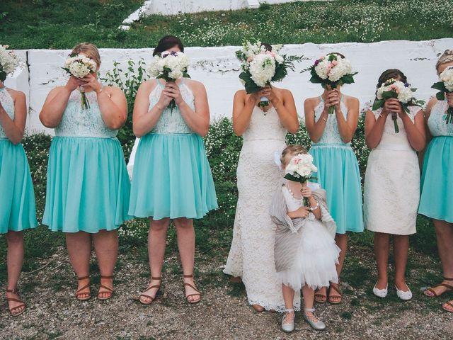 Jenna and Mark's wedding in Kincardine, Ontario 1