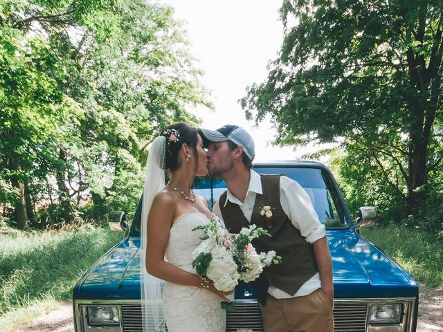 Jenna and Mark's wedding in Kincardine, Ontario 11