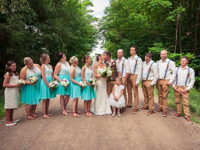 Jenna and Mark's wedding in Kincardine, Ontario 12