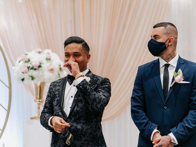 Mac and Nicola's wedding in Vaughan, Ontario 26