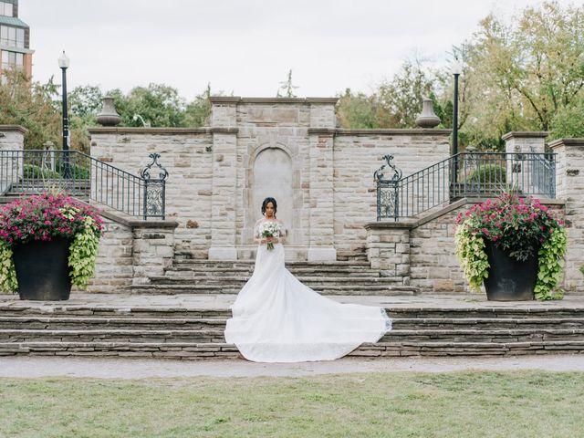 Mac and Nicola's wedding in Vaughan, Ontario 1