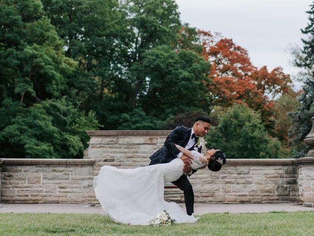 The wedding of Nicola and Mac
