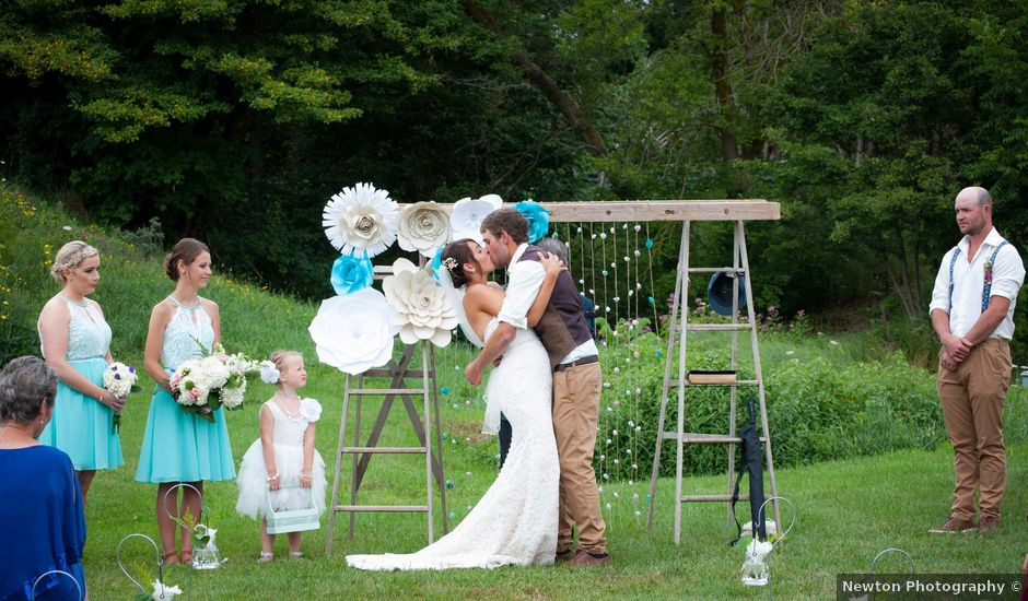 Jenna and Mark's wedding in Kincardine, Ontario
