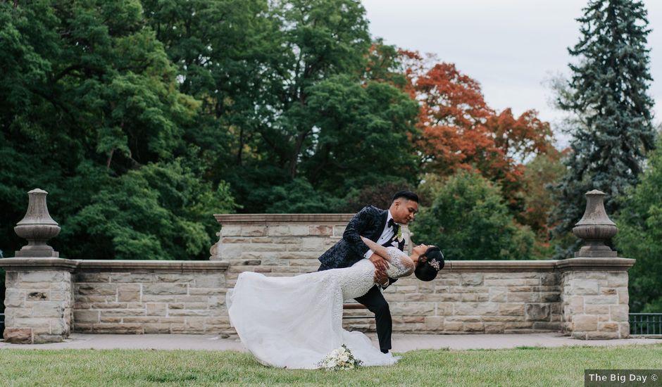 Mac and Nicola's wedding in Vaughan, Ontario