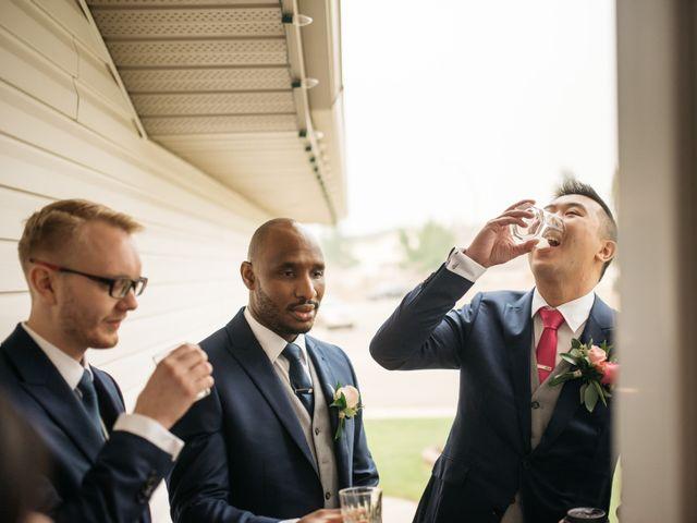 Gordon and Rhonda's wedding in Edmonton, Alberta 14