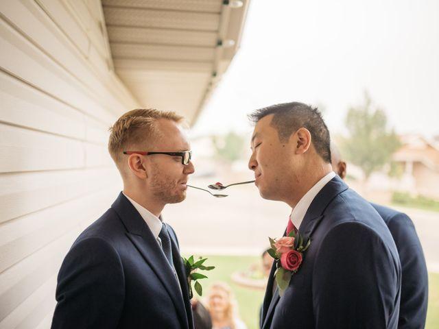 Gordon and Rhonda's wedding in Edmonton, Alberta 16