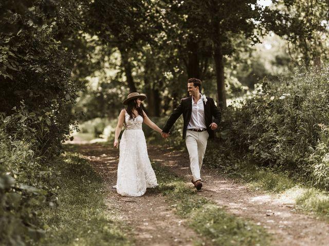 The wedding of Chloe and Jack