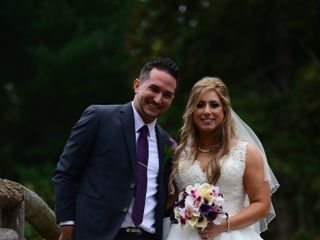 The wedding of Jackie  and Greg