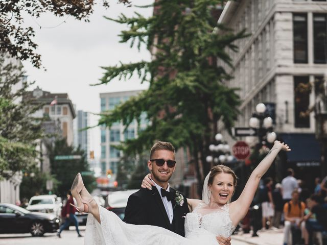 Tyler and Katherine's wedding in Vancouver, British Columbia 4