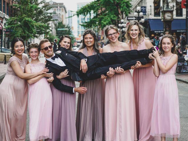 Tyler and Katherine's wedding in Vancouver, British Columbia 10