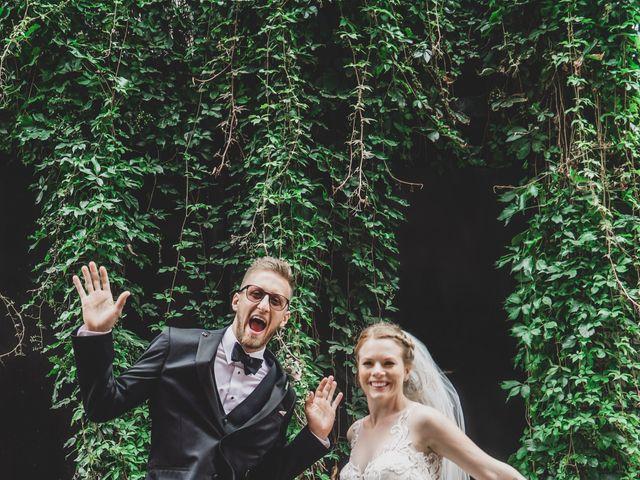 Tyler and Katherine's wedding in Vancouver, British Columbia 1