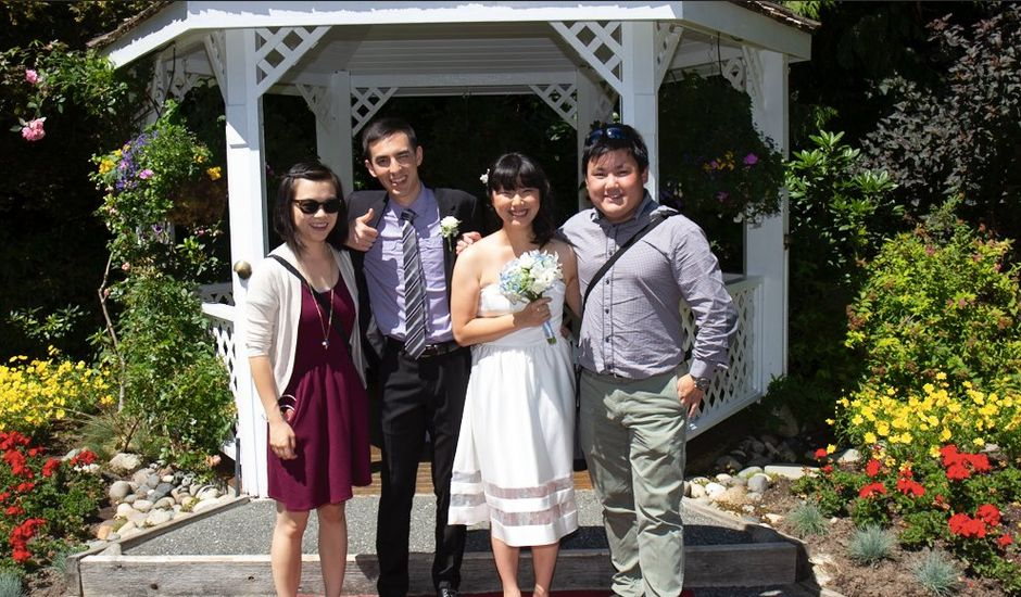Will and Becca's wedding in Vancouver, British Columbia